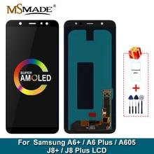 Super AMOLED pour Samsung Galaxy A605 LCD écran tactile numériseur assemblée remplacement pour Samsung Galaxy A605F A605FN LCD