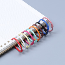 Keyring Book Binding Metal Keychain DIY Loose-Leaf Small 10pcs 30mm Car-Hanging Handmade