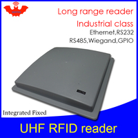 UHF RFID reader middle range (more than 6m) VIKITEK 61M manufactury Access control rs232 485 wiegand ethernet Integrated Reader
