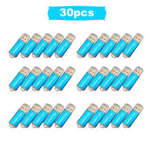 30pcs/lot Usb Metal Flash Drive 2.0 External Storage Flash Memory USB Stick