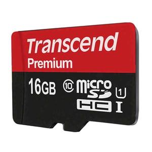 Image 2 - Karta pamięci Transcend Premium 16GB karta MicroSDHC Class10 U1 odczyt do 90 MB/S UHS 1 karta TF 16GB na samrtphone i komputer stołowy