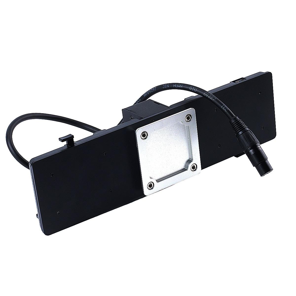 V montagem da placa de bateria suporte