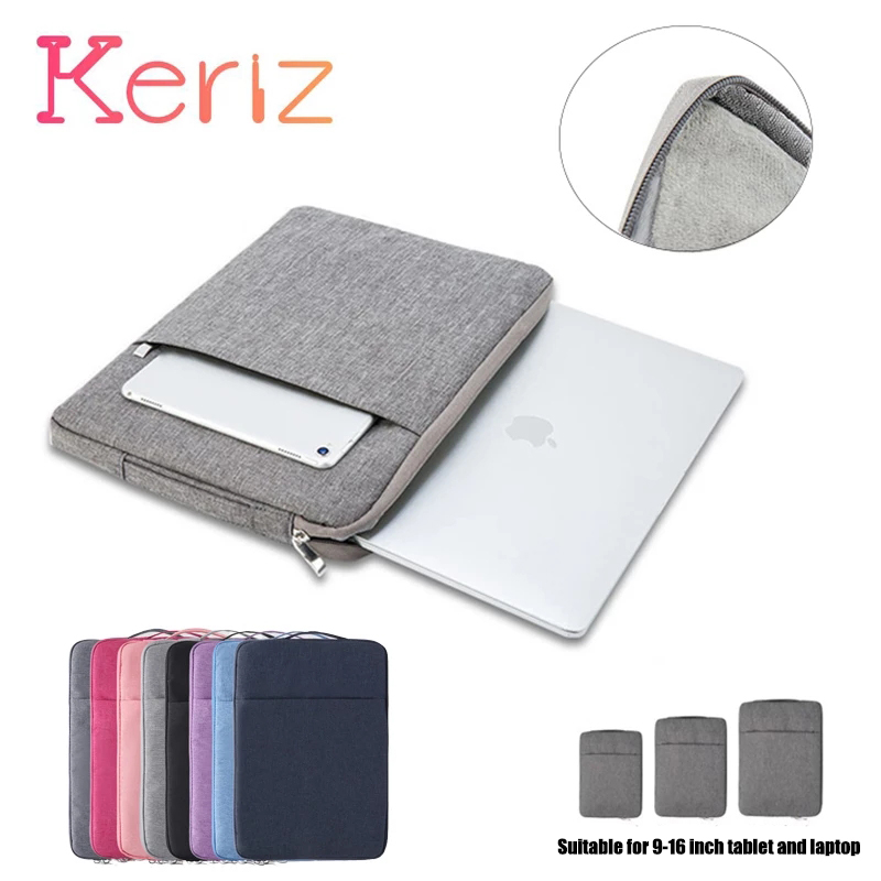 Waterproof Tablet Pouch for MacBook Air Pro 10 11 13 15 16-inch Notebook Protective Cover Accessories Tablet Pouch Laptop Bag