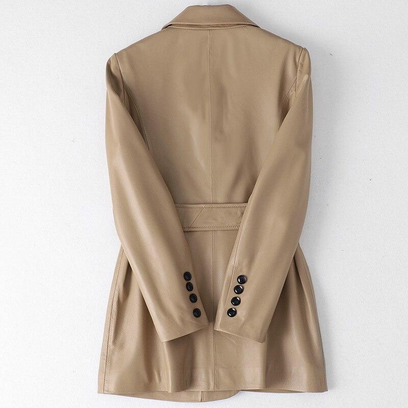 Autumn Winter Coat Women Clothes 2020 Korean Real Fur Coat Female Genuine Leather Jacket Vintage Tops Sheepskin Coat ZT4875