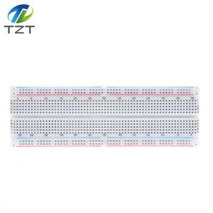 Image 5 - 10PCS NEW MB 102 MB102 Breadboard 830 Point Solderless PCB Bread Board Test Develop DIY for arduino