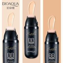 Bioaqua moda almofada de ar bb creme perfeito impecável nude make-up cosméticos fundação líquido hidratante controle de óleo creme de rosto