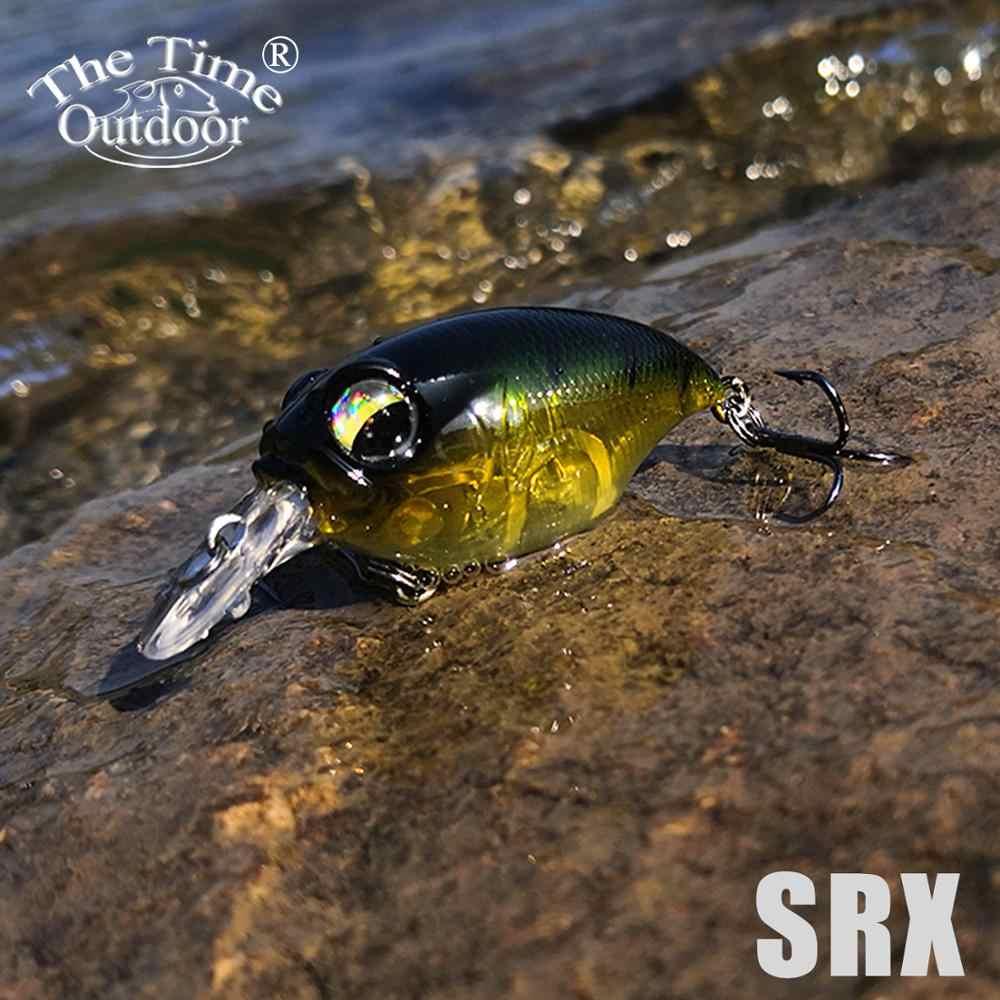 5 pz/scatola TheTime SRX 40mm8g Floating Crank Esca Minnow Lure Crankbaits Wobblers Richiamo di Pesca Alla Trota Pesce Persico Bass Zander di Pesca