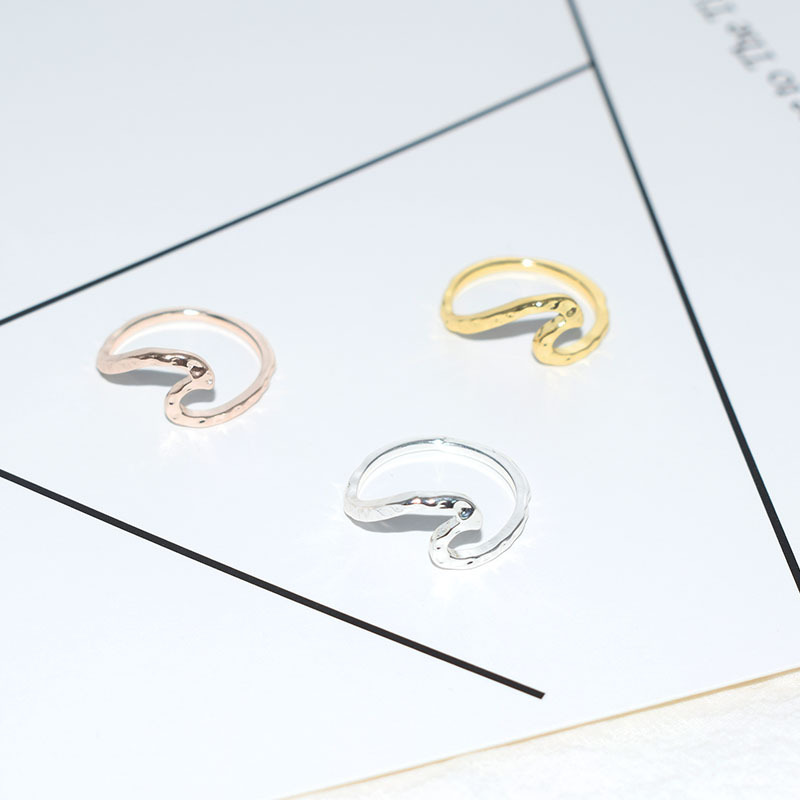 Aliexpress Wish Amazon Best Selling Europe And America Wave Ring