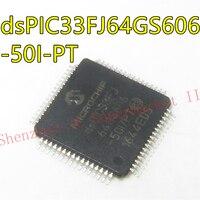 DSPIC33FJ64GS606-50I/PT IC MCU 16 бит 64 КБ флэш 64TQFP