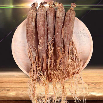 China Changbai Mountain Natural organic red ginseng root  No sugar good quality Health products enhance immunity Free shipping beauty products china beauty products china peeling de diamante dermoabrasion white free shipping