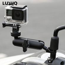 Motorrad Fahrrad Kamera Halter Lenker Spiegel Halterung Für APRILIA Rs Tuono V4 Rsv 1000 Rsv4 Shiver dorsoduro Sxv Sr 50