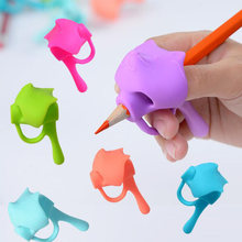 2020 новый пять пальцевое перо держатель силиконовые детские