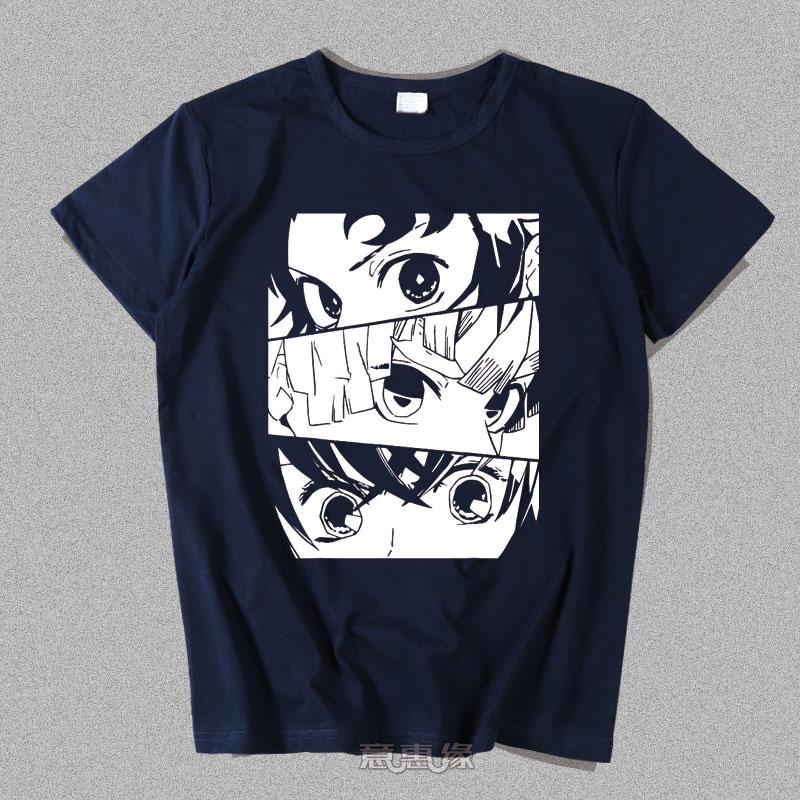 鬼灭之刃新T恤模板011