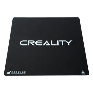 Image 2 - Creality 310X320/410*410/510X510X1mm Frosted HeatBed Hot Bed Platform Sticker For CR 10S pro CR 10S4 S5 3D Printer