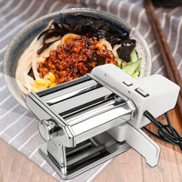 Small electric stainless steel Pasta machine Fully automatic Multifunction Pasta machine Household Manual Press machine