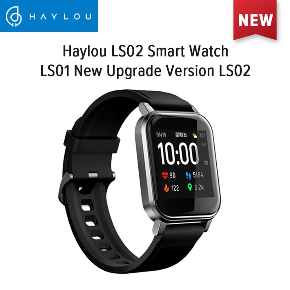 Haylou LS02 Smartwatch Global Version 9 Sport Modes