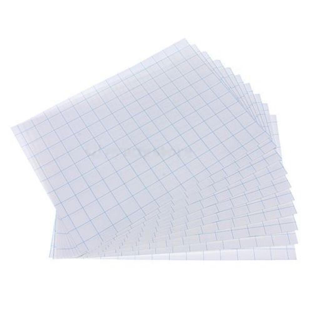 10pcs/Set T Shirt A4 Transfer Paper Iron On Heat Press Light Fabrics Inkjet Print Printing Paper For T Shirts A4 Craft