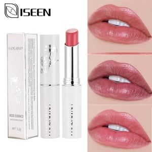 Lipstick Matte Waterproof Velvet Lip Stick Long lasting Moisturizing Makeup Matte Lipsticks Natural Rose Essence Lips Labiales(China)