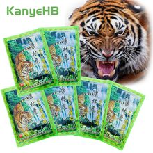 48pcs/6bags Hot Sale Tiger Balm Patch Joint Shoulder Rheumatism Pain Herbal Balm Medical Plasters Pain Relief Stickers A057