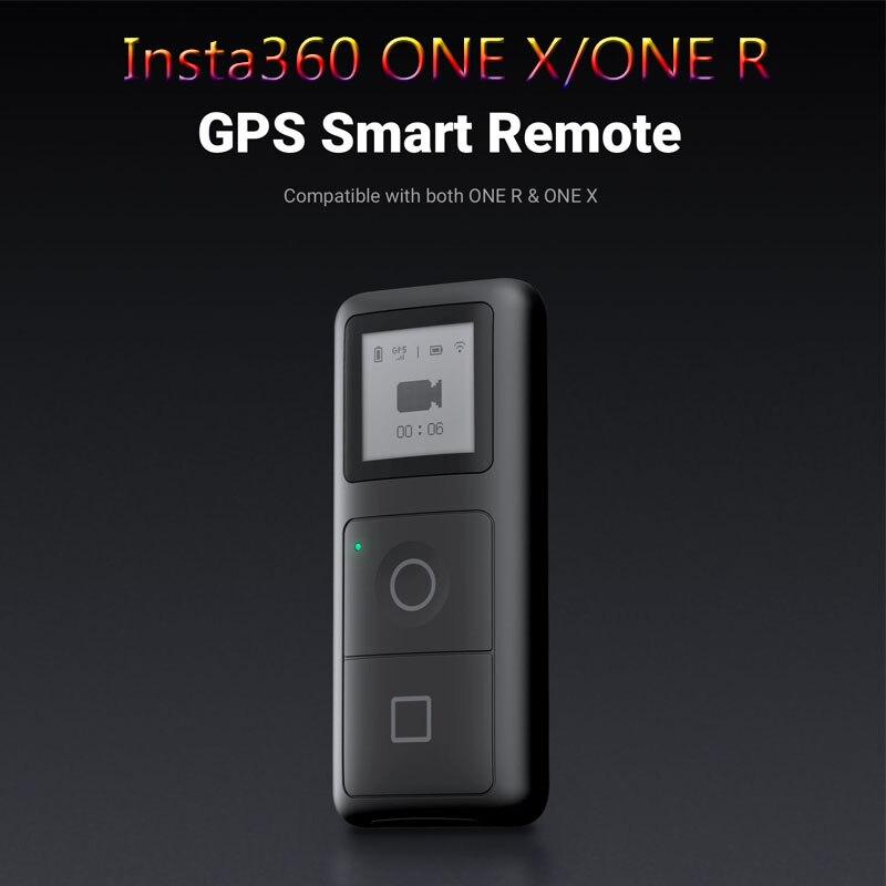 Insta360 ONE x2 / ONE X / ONE R GPS умный пульт дистанционного управления для экшн-камеры VR 360 панорамная камера