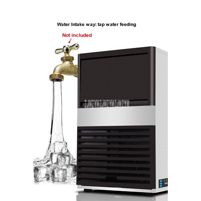 85 kg/tag Automatische Elektrische Quadratische Form Eis Maker Blu ray Desinfizieren Ice Cube, Der Maschine Für Milch Tee Kaffee bar Shop ZC 091 - 2