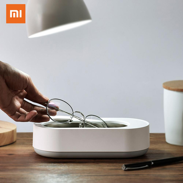 New Xiaomi EraClean Ultrasonic Cleaning Machine 45000Hz High Frequency Vibration Wash  Cleaner Washing Jewelry Glasses Watch 1