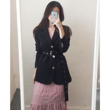 Женский пиджак новый корейский костюм весна осень 2020 с длинными