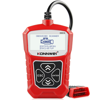 KONNWEI KW310 OBD2 Scanner for Auto OBD 2 Car Scanner Diagnostic Tool Automotive Scanner Car Tools Russian Language PK Elm327 8