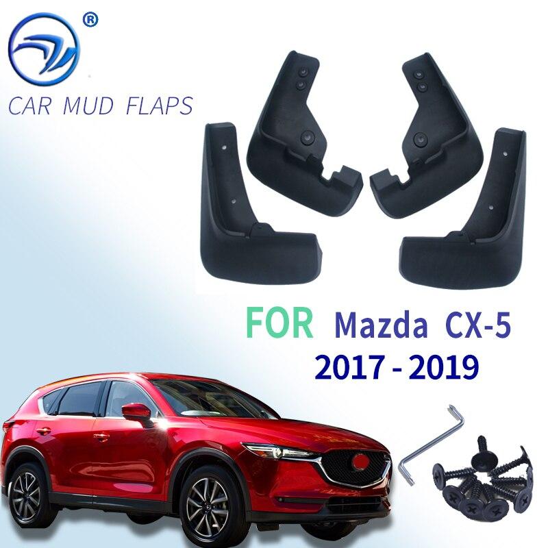 Front Rear Car Mud Flaps Fit for Mazda CX-5 CX5 2nd Gen KF 2017 2018 2019 Mudflaps Splash Guards Mud Flap Mudguards Car Accessories, Mud Flaps Splash Guards