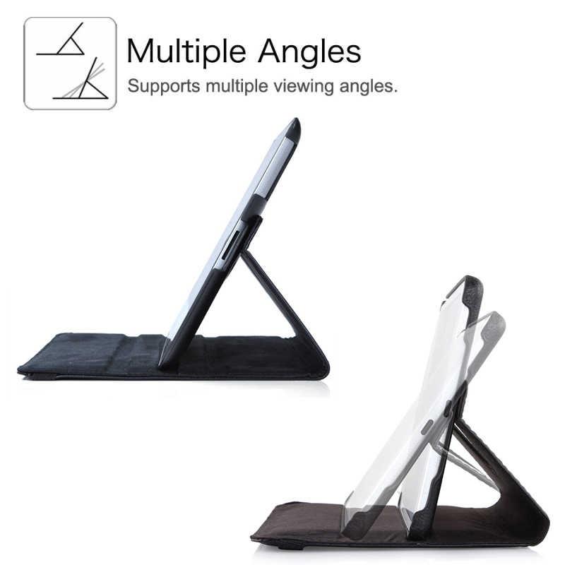 Вращающийся на 360 градусов чехол-подставка, для iPad Mini 1 2 3 чехол из искусственной кожи, умный флип-чехол для Funda iPad Mini, чехол для сна/пробуждения