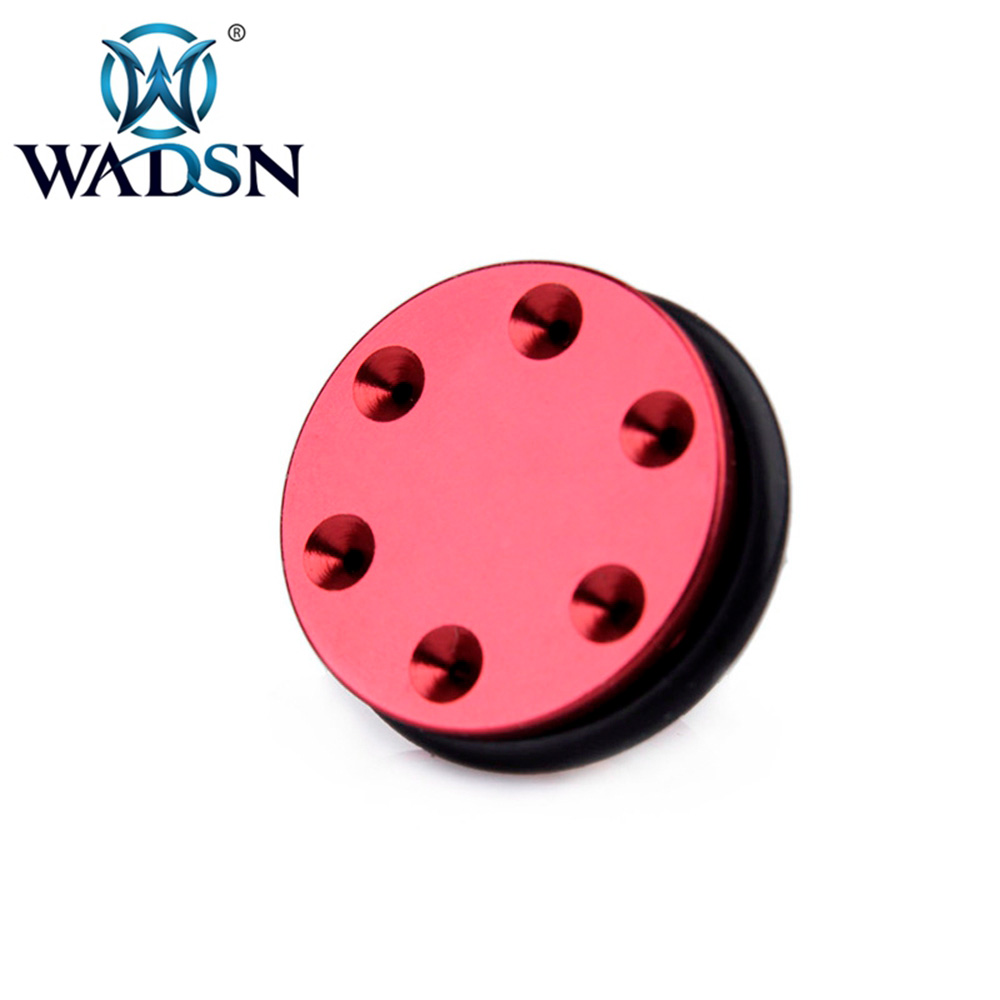 WADSN Tactical CNC Aluminum O-ring Ball Bearing Piston Head 6 Holes For Ver.2/3 Airsoft AEG Gearbox PO03041 Paintball Accessory