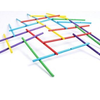 Fly AC drewniana gra logiczna dla dzieci teoria struktury architektonicznej klasyczna gra stick Kids zabawki interaktywne tanie i dobre opinie WOOD 72pcs Small parts Not for children under 3 years do budynków 3 lat FF19049 Unisex puzzle