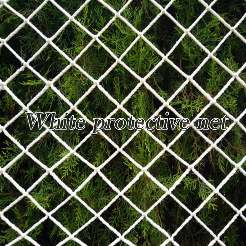 6/7/15M Grid Nylon Safety Netting Stair Balcony Safety Protection Fence Kids Toddler Safe Deck Anti Falling Net