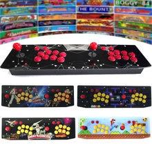 RAC T400 Two Player TableTop Retro Arcade Game Console Raspberry PI 4 Model B 4GB 128G Metal Case Joystick Fighting Stick