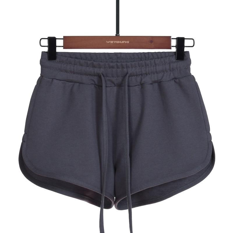 2020 Summer Large Size Cotton Casual Sports Shorts Lady Bandage Fashion Streetwear Sleep Bottom Female Women's Shorts