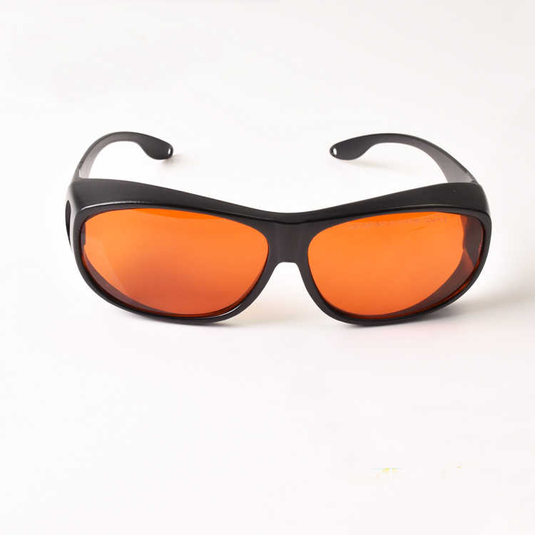 Laser Protective Glasses For Multi-wavelengths Lasers 190-550nm And 800-1100nm O.D 6+ CE 532nm And 1064nm Lasers