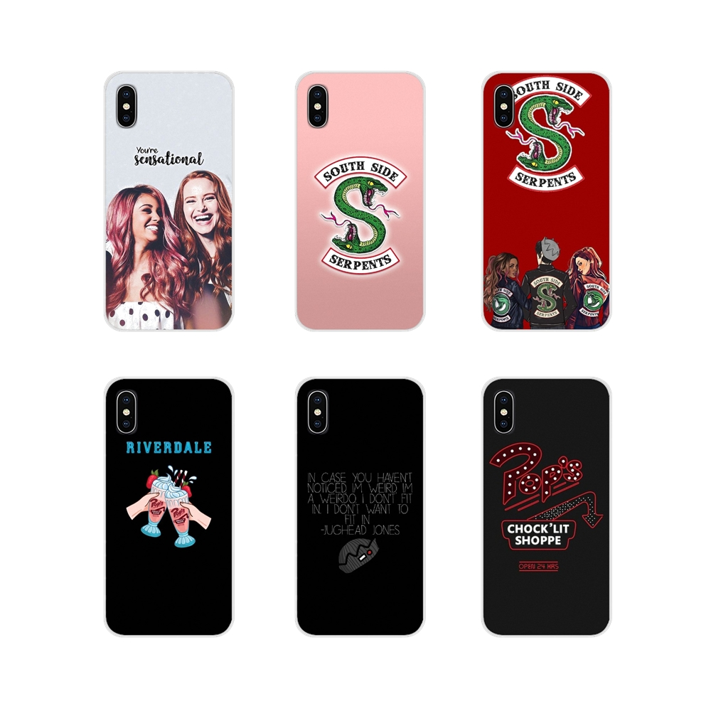 Accessories Phone Cases Covers TV Riverdale South Side Serpents For Motorola Moto X4 E4 E5 G5 G5S G6 Z Z2 Z3 G G2 G3 C Play Plus