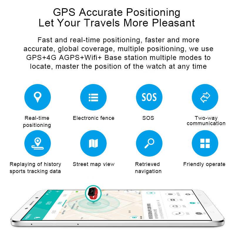 H5 4G חכם שעון גבר Reloj inteligente גברים GPS טלפון שעון WIFI 1G/Ram 8G/ rom Smartwatch אנדרואיד קצב לב אוזניות מצלמה