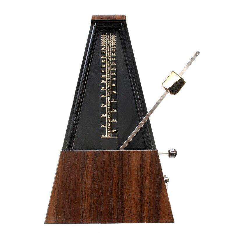 새로운 기계 메트로놈 나무 컬러 음악 타이머 피아노 기타 바이올린 Guzheng 악기 교육 메트로놈|기타 구성품 & 액세서리| - AliExpress