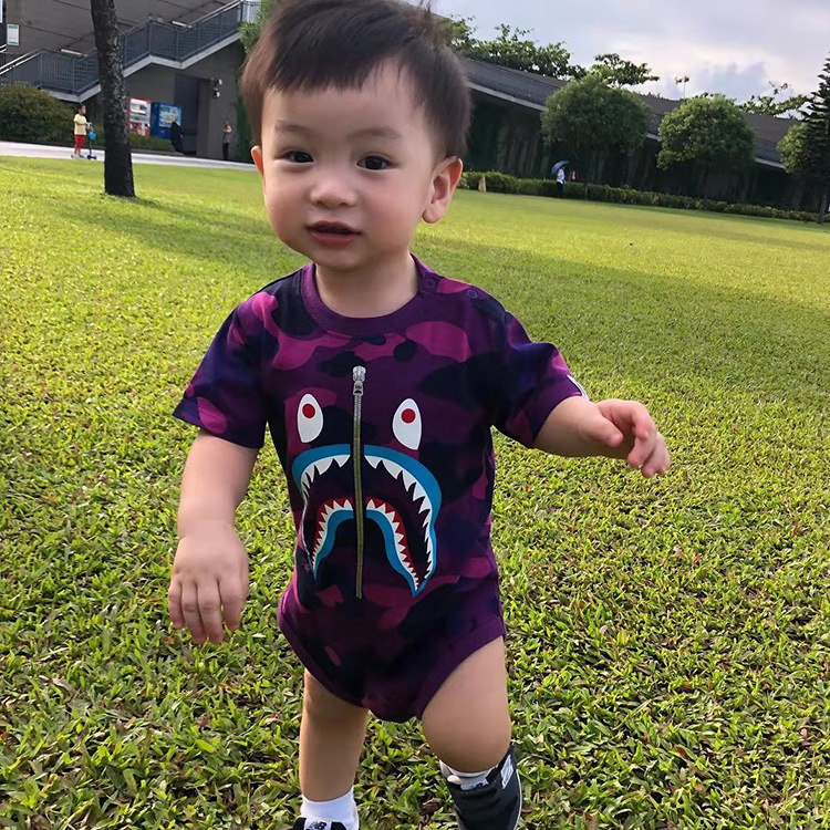 KID'S Swimwear GIRL'S One-piece Long Sleeve Sun-resistant Girls Cute Tour Bathing Suit South Korea Kids 1-3 Years Old Baby Swimw