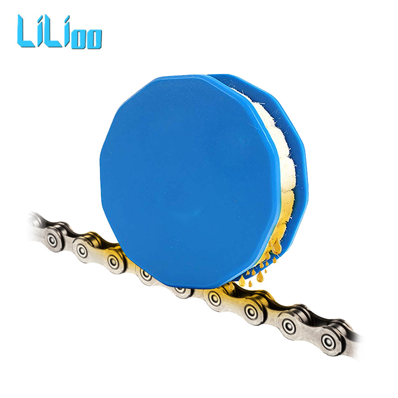 Bicycle Roller Chain Oiler Lubricating Cycling Gear Roller Cleaner Lubricant W/Magnet Bicycle Chain Repair Tools Bike Accessorie