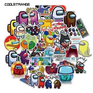 10/30/50PCS Among Us Hot Game Stickers For Skateboard Fridge Guitar Laptop Motorcycle Travel Luggage Cartoon Stickers