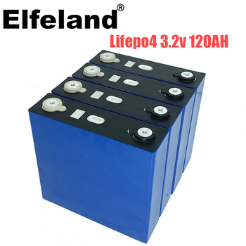 new 4PCS 3.2v 120ah lifepo4 12v 24v 36v 48v deep cycle package ldp lithium cell lithium iron phosphate