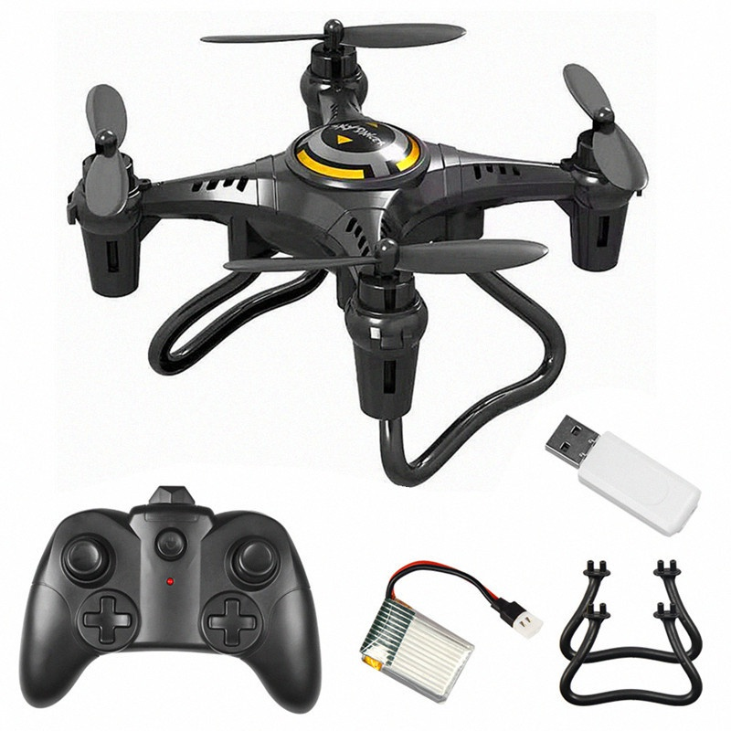 Remote Control Aircraft Air Pressure Fixed Height Four-axis HD Aerial Photography Aircraft Drone Toy Christmas Gift For Kids