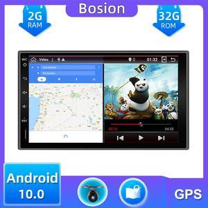 32G 2 din автомобильное радио gps android 10,0 автомобильный стерео Кассетный плеер рекордер радио тюнер GPS навигация RDS 4G TV box DAB OBD