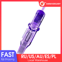 20 pcs Sterilized MAST Pro Cartridge Needles Round Magnum RM Permanent Makeup Needles Tattoo Cartridge Needles Accessories