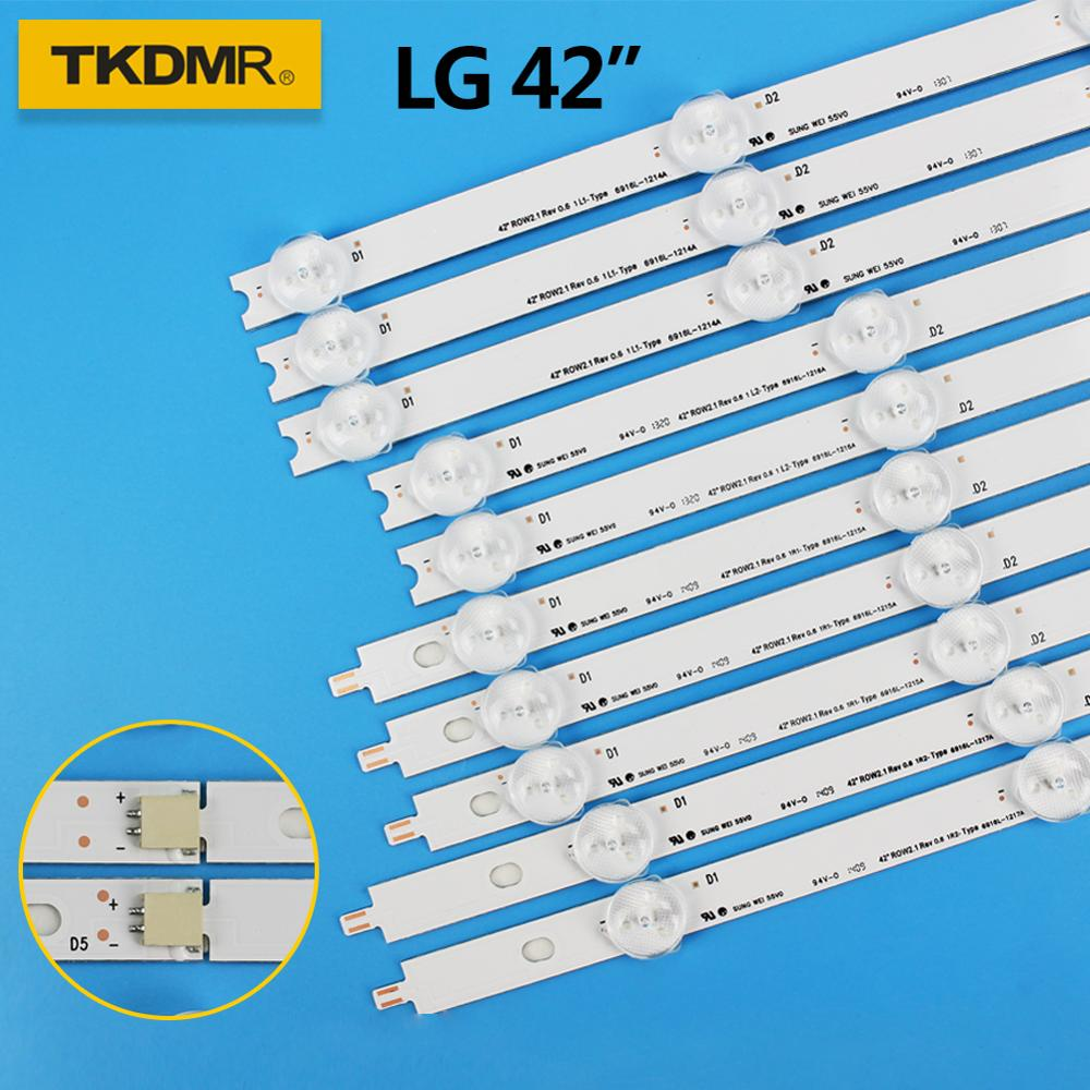 TKDMR LED Backlight Strip BAR For LG 42inch 42