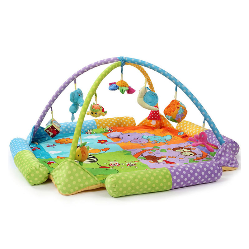 Baby Early Development Activity Pad Baby Special Polyester Fabric Game Mat Crawling Mat Crawling Blanket Baby Toys