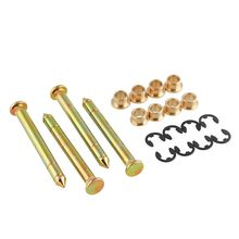 Door Hinge Pins Pin Bushing Kit for Ford F150 F250 F350 Bronco (4 pins 2 Door)