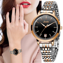 цена на SUNKTA Women Watches Top Brand Luxury Watch Quartz Waterproof Women's Wristwatch Ladies Girls Fashion Clock relogios feminino